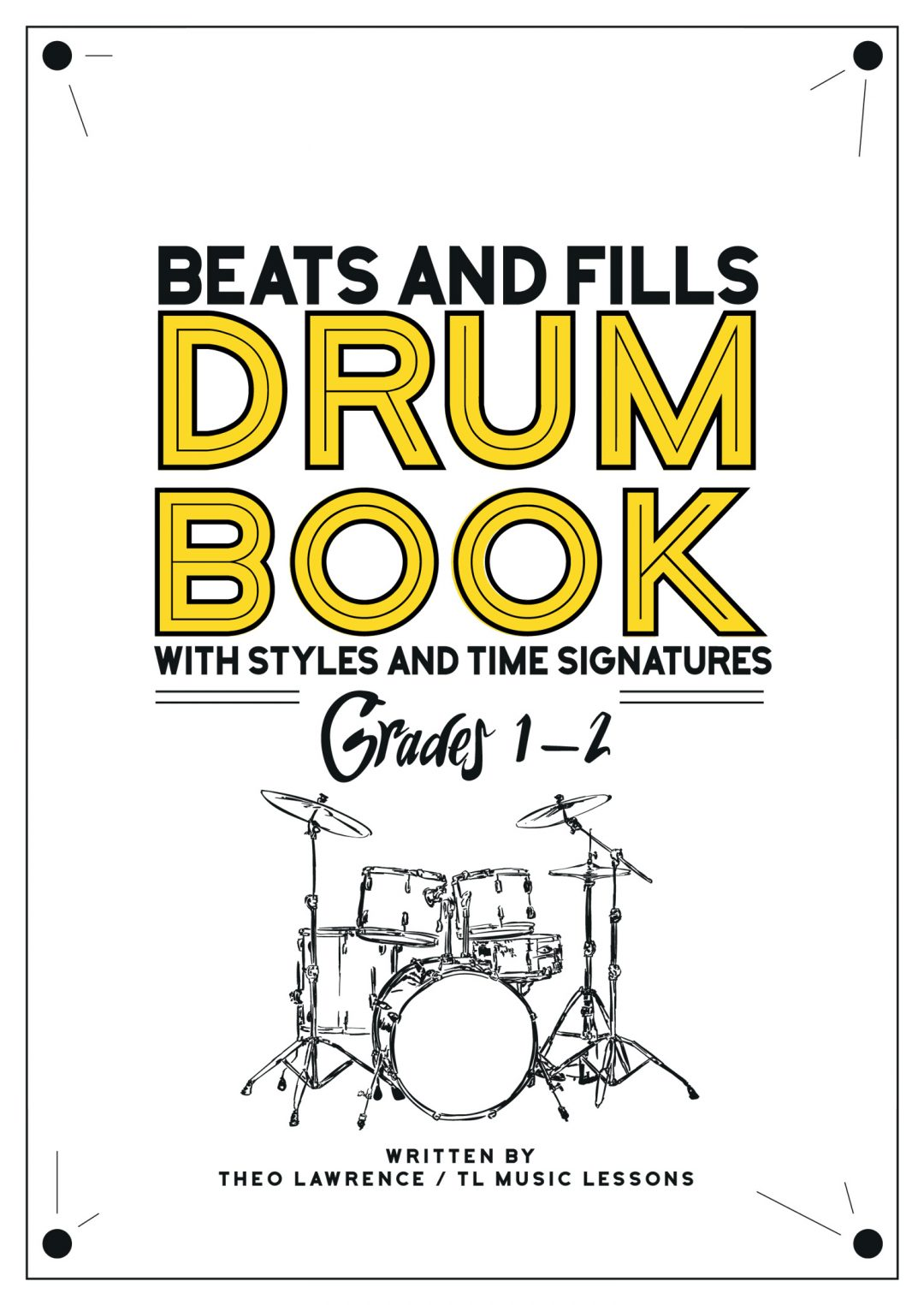 Grades 1-2 Beats & Fills Drum Book – Rock Pop Soul Funk – PDF ebook