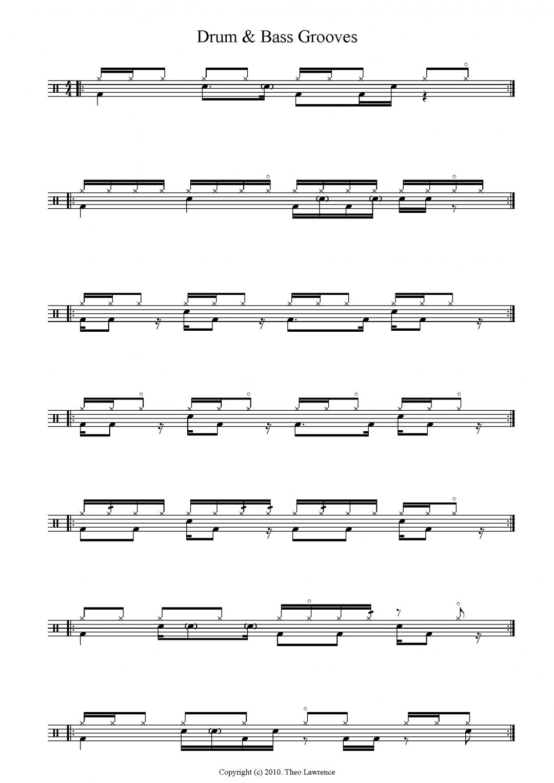 7 Drum & Bass Drum Beats